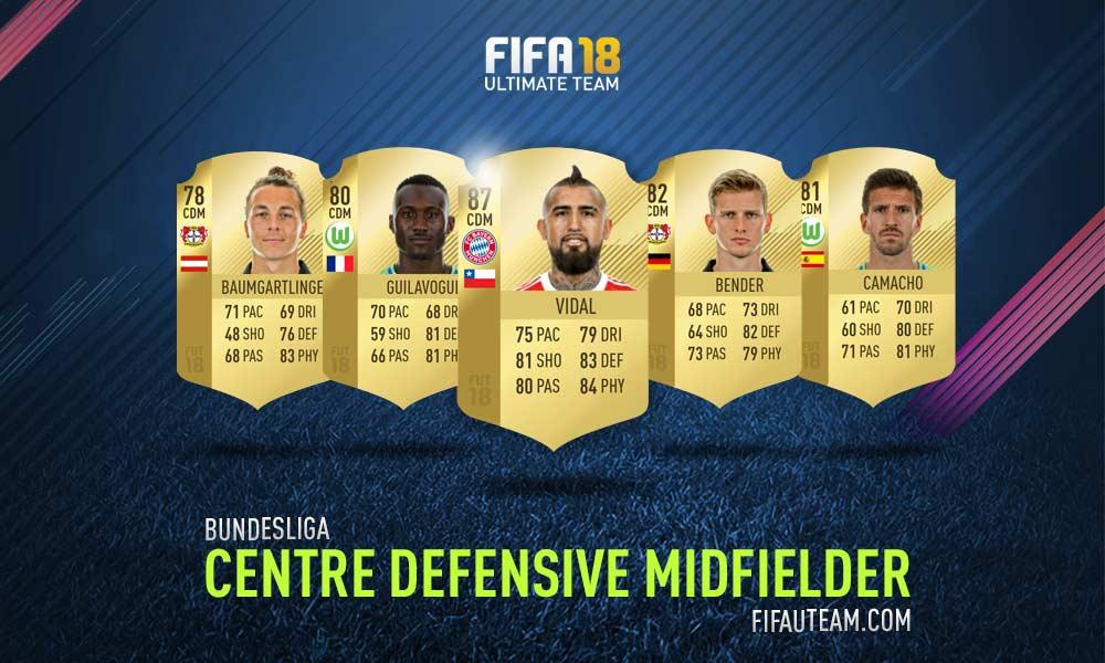 FIFA 18 Bundesliga Squad Guide - CDM