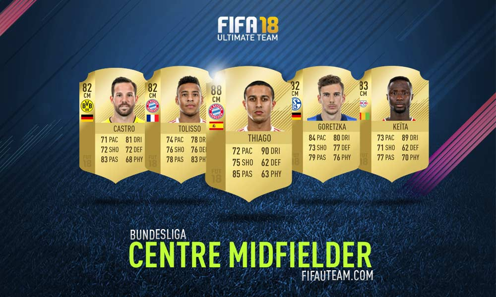 FIFA 18 Bundesliga Squad Guide - CM