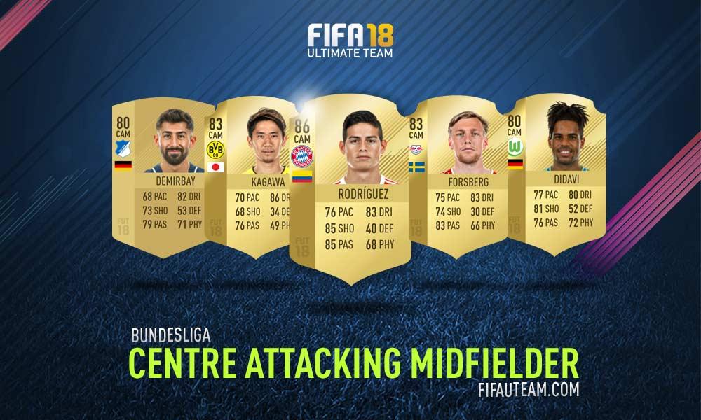 FIFA 18 Bundesliga Squad Guide - CAM