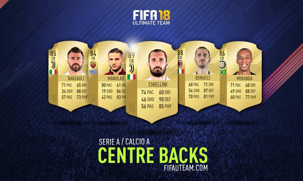 FIFA 18 Serie A Squad Guide