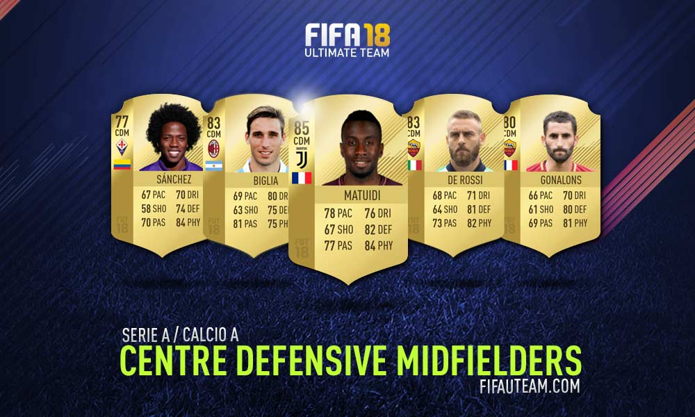 FIFA 18 Serie A Squad Guide - CDM