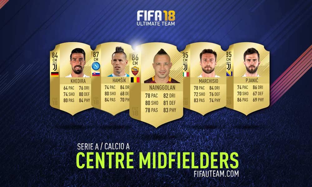 FIFA 18 Serie A Squad Guide - CM