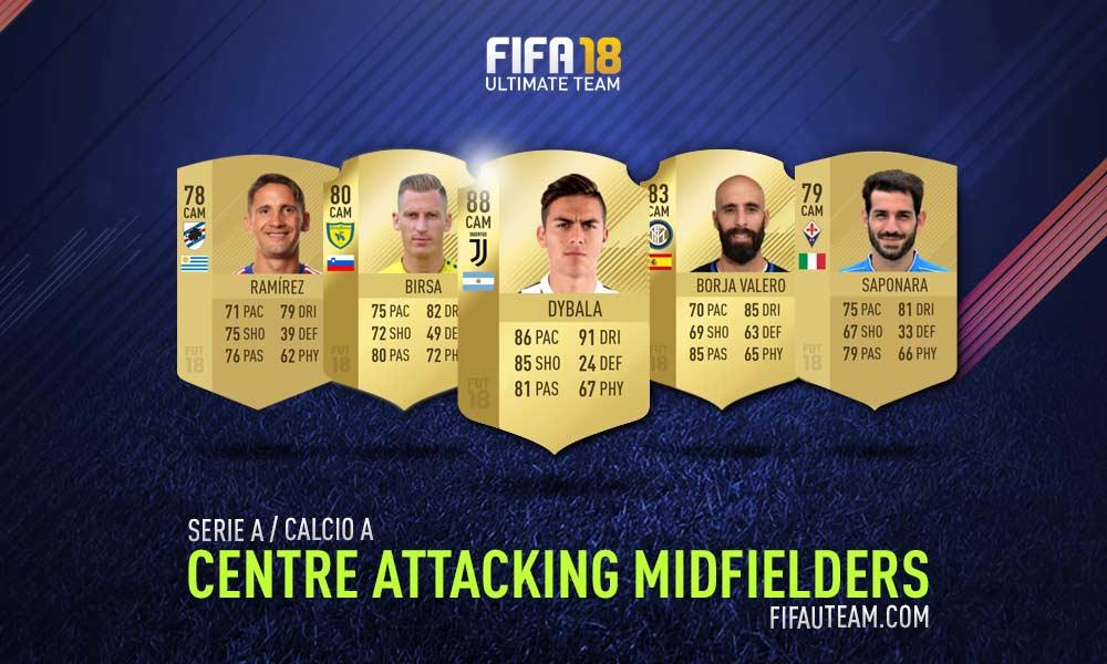 FIFA 18 Serie A Squad Guide - CAM