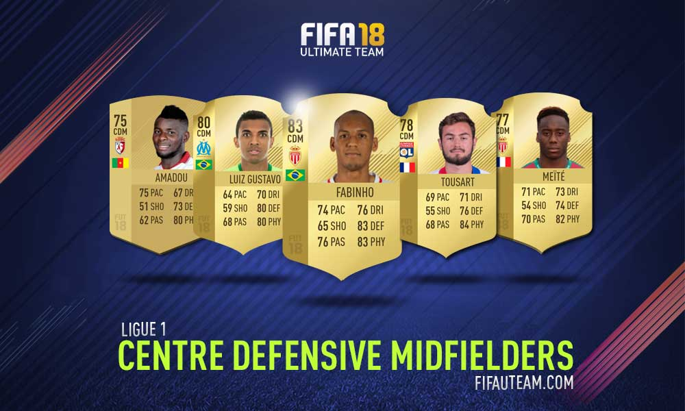 FIFA 18 Ligue 1 Squad Guide - CDM