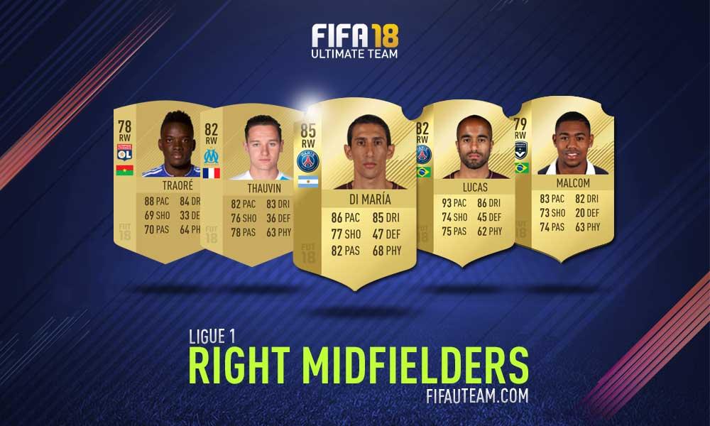 FIFA 18 Ligue 1 Squad Guide - RM, RW e RF