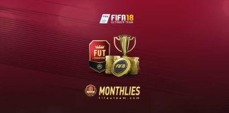 FIFA 18 FUT Champions Monthly Rewards & Dates