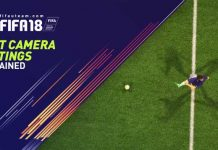 FIFA 18 Best Camera Settings Explained