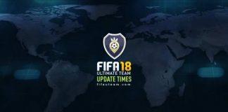 FIFA 18 Squad Battles Calendar - Update Times List