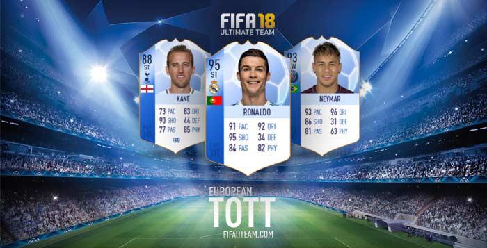 FIFA 18 TOTGS