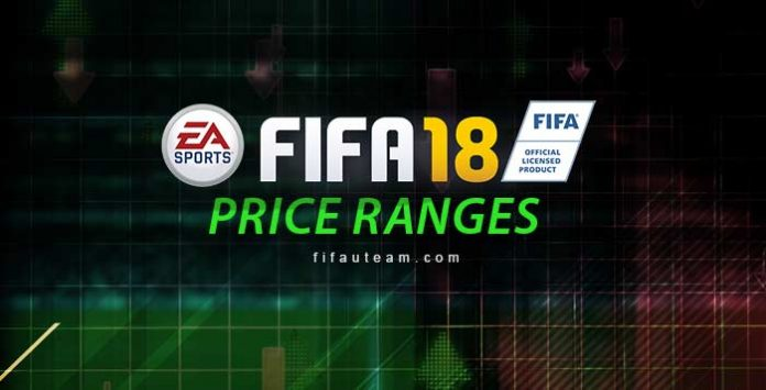 FIFA 18 Price Ranges Guide for FIFA Ultimate Team