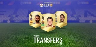 FIFA 18 Winter Transfers - Full and Updated Players List