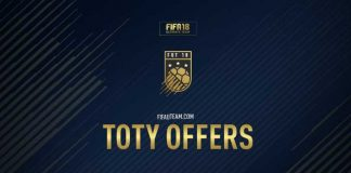 FIFA 18 TOTY Offers Guide