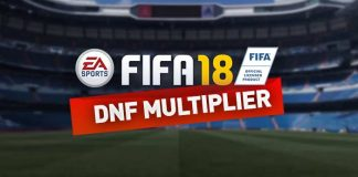 DNF Multiplier Guide for FIFA 18 Ultimate Team