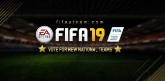 New FIFA 19 National Teams - Vote for Your Favourite International Teams