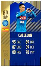 José Callejón TOTS Item