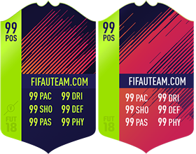 Cartas de Jogadores para FIFA 18 Ultimate Team - Path to Glory Cards