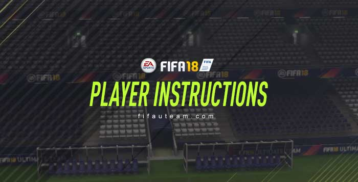 FIFA 18 Player Instructions Complete Guide