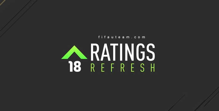 FIFA 18 Ratings Refresh