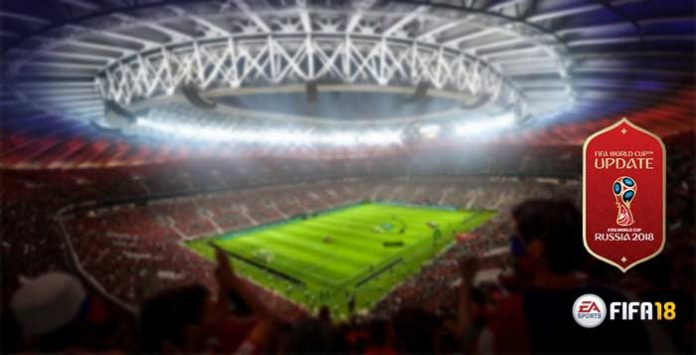 FIFA 18 World Cup Update Stadiums