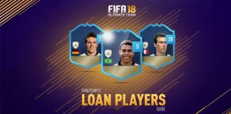 Loan Players Guide for FIFA 18 Ultimate Team
