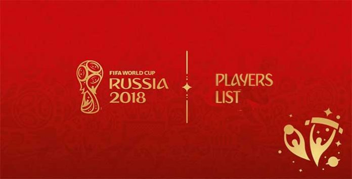 FIFA 18 World Cup Ultimate Team Players List