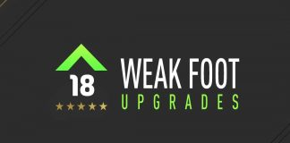 FIFA 18 Weak Foot Upgrades Guide