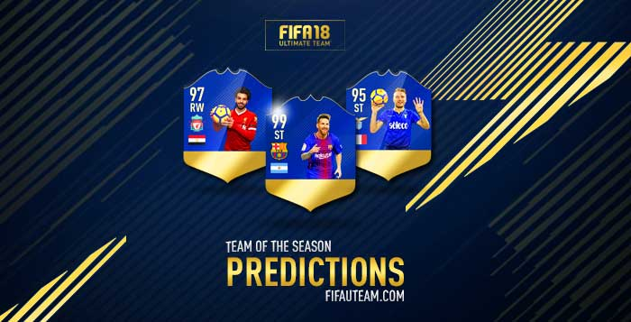Fifa 18 Tots Predictions Of Every Single Team Of The Season