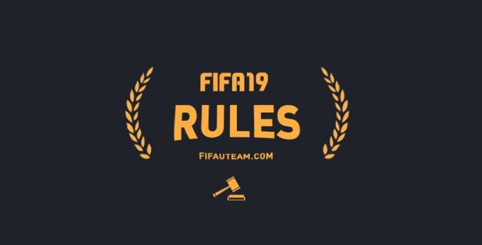 FIFA 19 Rules - Rules of Conduct & Penalties