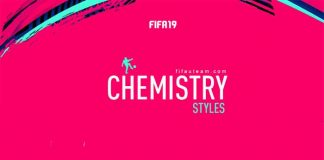 Chemistry Styles Cards for FIFA 19 Ultimate Team