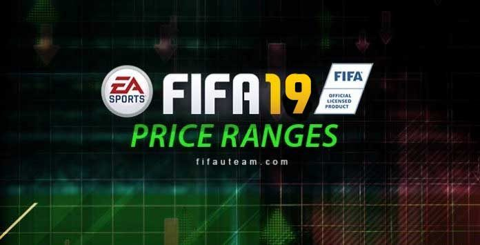 FIFA 19 Price Ranges Guide for FIFA Ultimate Team