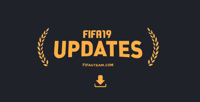 Server and FIFA 19 Update History for Playstation, XBox and PC