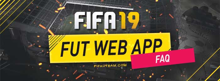 FIFA 19 Web App Details for FUT 19 - Release Date, Access and More