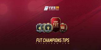 FIFA 19 FUT Champions Tips