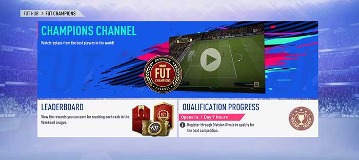 FUT Champions News and Updates for FIFA 19 Ultimate Team