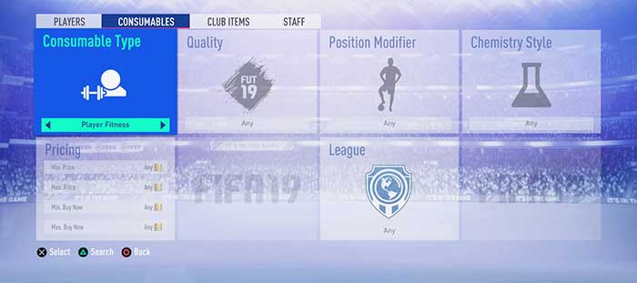 Guia de Cartas de Fitness para FIFA 19 Ultimate Team