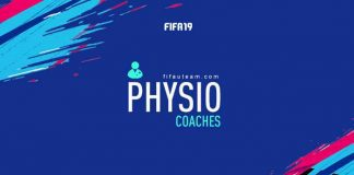 FIFA 19 Physio Coaches Cards Guide
