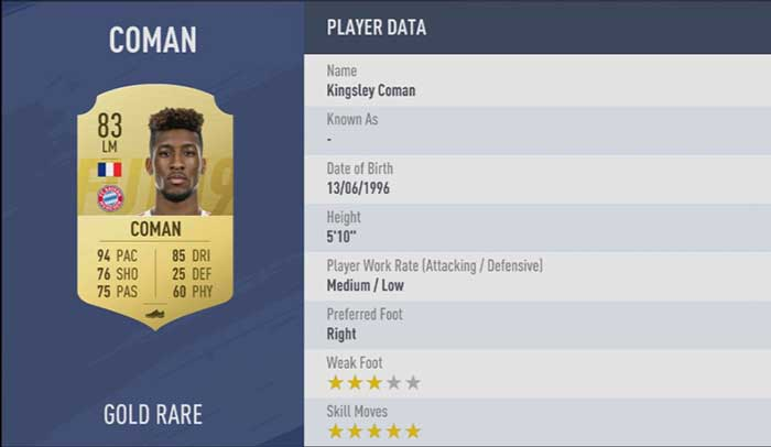 The Best FIFA 19 Skillers - 5 Star Skill Players List