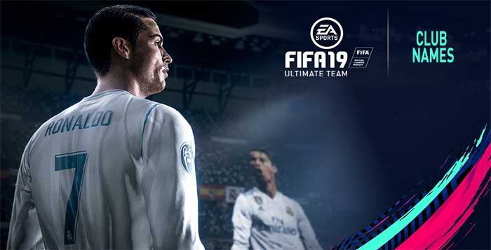 The Best Club Names for FIFA 19 Ultimate Team