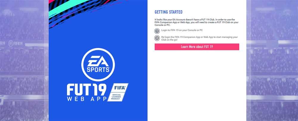 FIFA 20 Web App Release Date and FUT Webstart Details