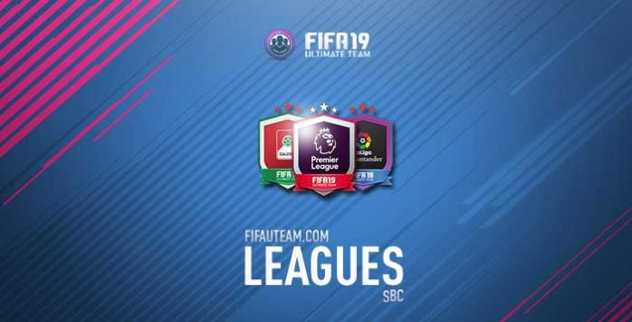 FIFA 19 League SBC Guide - Release Dates, Rewards and Details