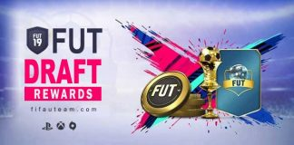 FUT Draft Rewards for FIFA 19 Online and Single Player Modes