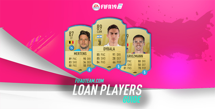 Loan Players Guide for FIFA 19 Ultimate Team f33ede29b