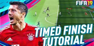 Timed Finishing Tutorial for FIFA 19