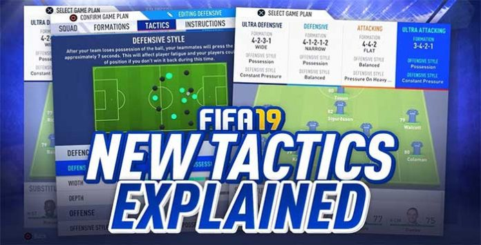 Dynamic Tactics Tutorial for FIFA 19