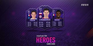 FIFA 19 Hero Purple Cards Guide