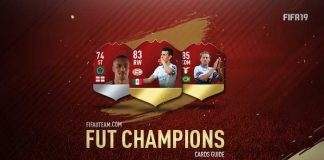 FIFA 19 FUT Champions Cards Guide