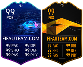 FIFA 19 Players Cards Guide - UEFA Live cards
