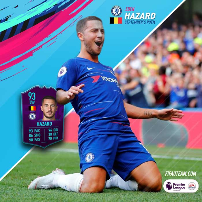 FIFA 19 Premier League Player Of The Month