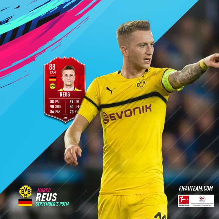FIFA 19 Bundesliga Player of the Month - All FIFA 19 POTM Cards