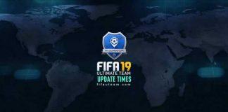 FIFA 19 Squad Battles Calendar - Update Times List